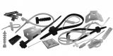 Шкафы, стяжки и клипсы для крепежа кабеля