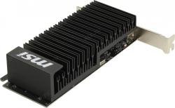 В/к PCI-E 2Gb DDR GF GT1030 MSI GT 1030 2GHD4 LP OC (RTL) HDMI+DP  DDR4 64bit