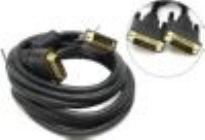 Кабель DVI-D to DVI-D (25M -25M)  3м, 2  фильтра VCOM Dual Link VDV6300
