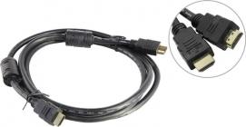 Кабель HDMI to HDMI (19M - 19M)  1.8м, AOpen ACG511D-1.8м ver1.4, 2 фильтра