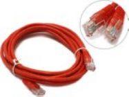 Кабель Patch Cord UTP кат.5e 3м   красный   PP12e-3M/R