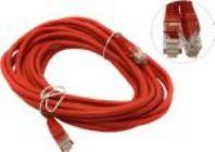 Кабель Patch Cord UTP кат.5e 5м  красный
