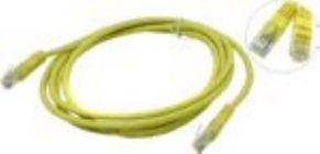 Кабель Patch Cord UTP кат.5e 2м   желтый