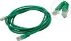 Кабель Patch Cord UTP кат.5e 3м   зеленый   PP12e-3M/G