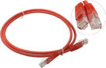 Кабель Patch Cord UTP кат.5e 1,0м   красный