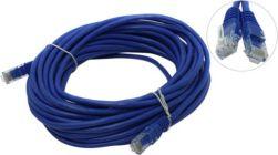 Кабель Patch Cord UTP кат.5e  10м   синий